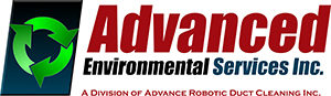 Logo of Advanced Environmental Services Inc. - a division of Advance Robotic Duct Cleaning Inc.