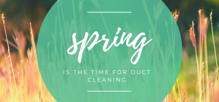 Why Spring is the Time for Air Duct Cleaning